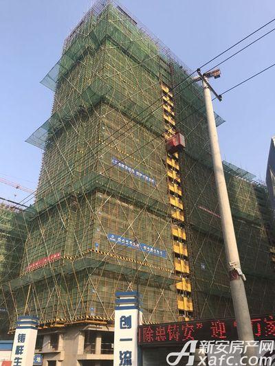 祥生宛陵湖新城施工中2017年12月份