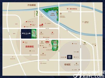 祥生·江山樾交通图