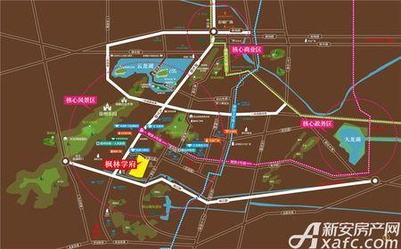 枫林学府交通图
