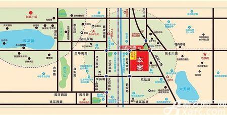 荣盛·花语城交通图
