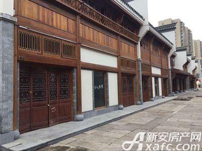 庐江中心城岗湾老街街道实景