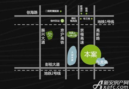 绿地高铁东城交通图