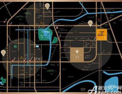 保利合景珑湾交通图