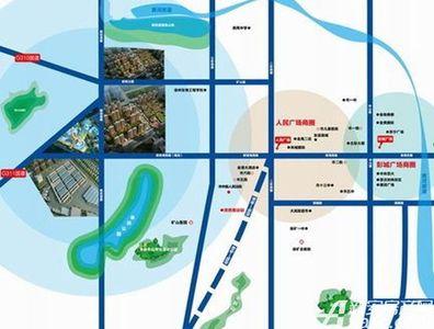 雨润新城交通图