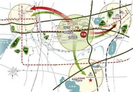 绿地工润·和平壹号交通图