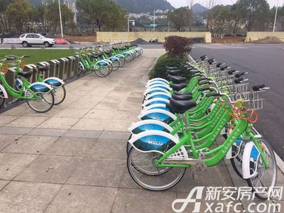 润城豪园公共自行车租赁点【20171215】