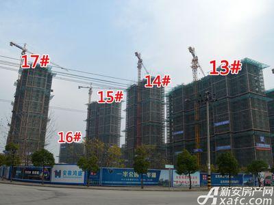 宜秀蓝湾13#-17#工程进度(2017.12.6)