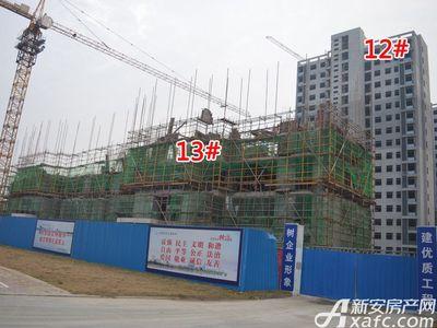 大地凤凰城12#、13#工程进度(2017.12.6)