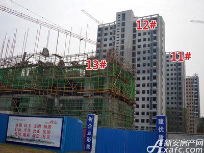 大地凤凰城11#、12#、13#工程进度(2017.12.6)