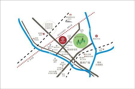 富源山庄交通图