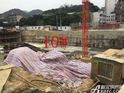 中航长江广场10#楼12月进度(2017.12.19)