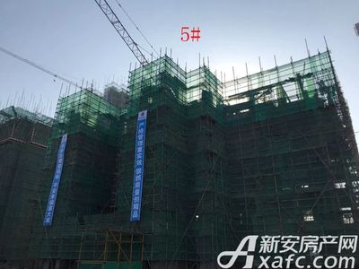 新城·悦府新城·悦府5#楼工程进度(2017.12.19)