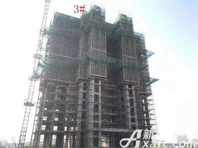 新城·悦府新城·悦府3#楼工程进度(2017.12.19)