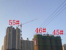 恒大绿洲55#、45#、46#楼项目进度(2017.12.21)