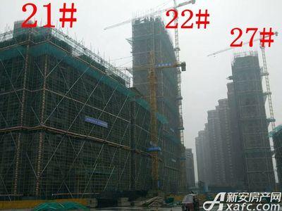 大发宜景城21#、22#、27#工程进度(2017.12.20)