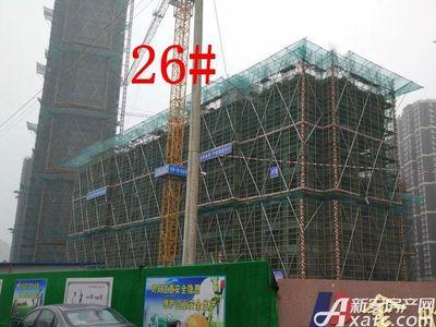 大发宜景城26#工程进度(2017.12.20)