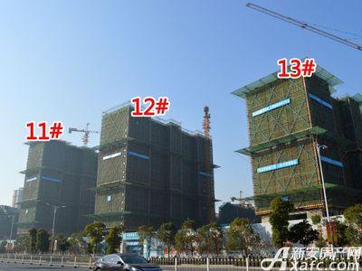 置地·康熙左岸11#、12#、13#工程进度(2017.12.19)