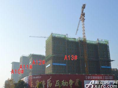 置地·康熙左岸10#、11#、12#、13#工程进度(2017.12.19)