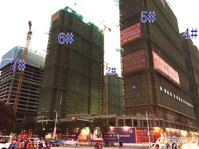 宿州CBD·中心广场宿州CBD·中心广场12月项目进度(12.13)