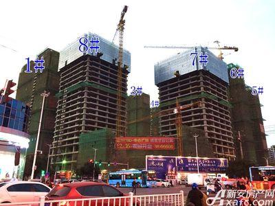 宿州CBD万达广场宿州CBD·中心广场12月项目进度(12.13)