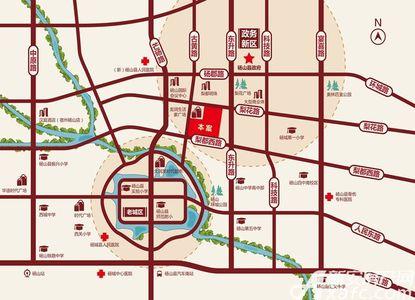 凯旋庄园交通图