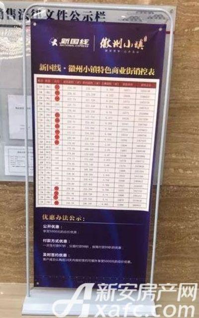 新国线·徽州小镇首期商铺面市(2017.12.27)