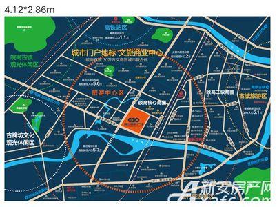 黄山颐高广场交通图