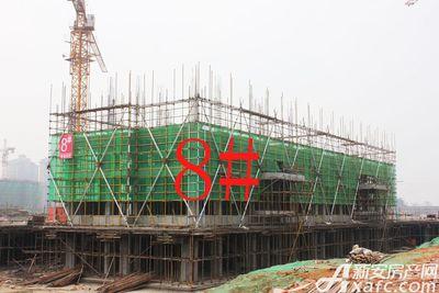 观湖花园8#工程进度(2017.12.25)