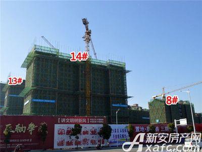 置地·康熙左岸8#、13#、14#工程进度