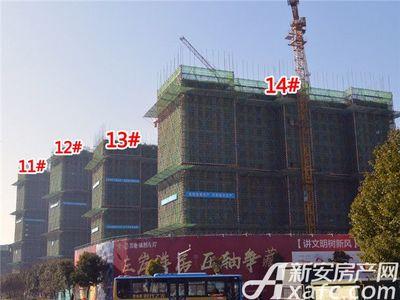 置地·康熙左岸11#、12#、13#、14#.工程进度