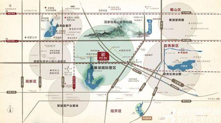 世茂国风交通图