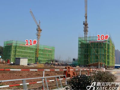 国投中心城(新天地红星美凯龙住宅)工程进度