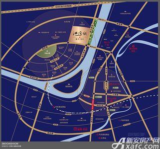 融信海亮江湾城交通图