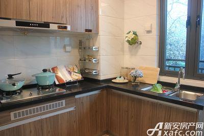 碧桂园城市之光YJ115T户型样板间厨房一角
