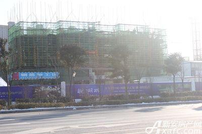 古井悦湖城古井悦湖城1月份项目进度 最高楼栋已建至地上八层