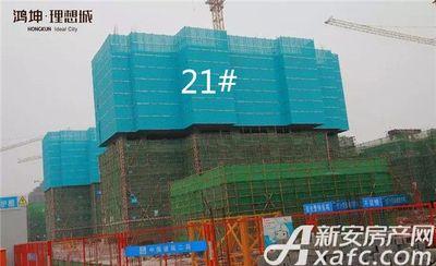 鸿坤理想城鸿坤理想城2018年1月工程进度