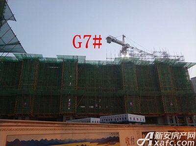 高速铜都天地G7#楼项目进度(2018.1.23)