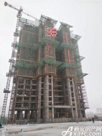 新城·悦府新城·悦府B1地块3#楼工程进度(2018.1.23)