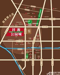 祥源公园城交通图