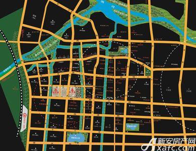京开城交通图