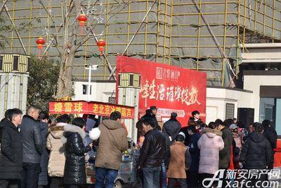 融翔·君悦澜山景观示范区开放20180204