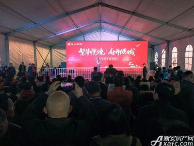 恒大悦府恒大悦府首开现场(2018.2.10)