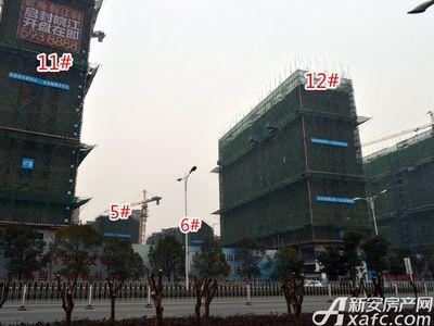 置地·康熙左岸5#、6#、11#、12#工程进度(2018.2)