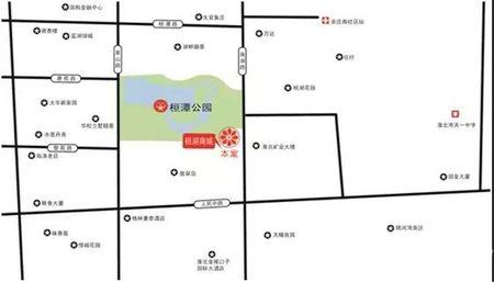 桓湖商城交通图