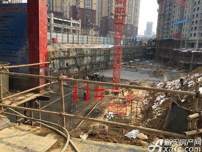中航长江广场11#楼2月进度(2018.2.4)