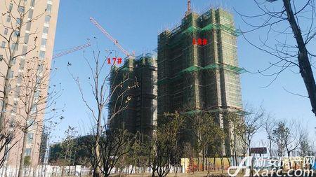 中梁江城1621工程进度