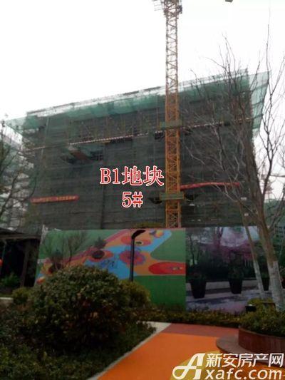 新城·悦府新城·悦府B1地块5#楼工程进度(2018.2.24)