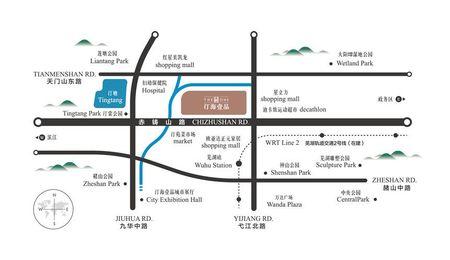 汀海壹品交通图
