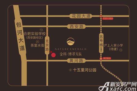 金科博翠天辰交通图