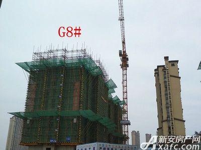 高速铜都天地G8#项目进度